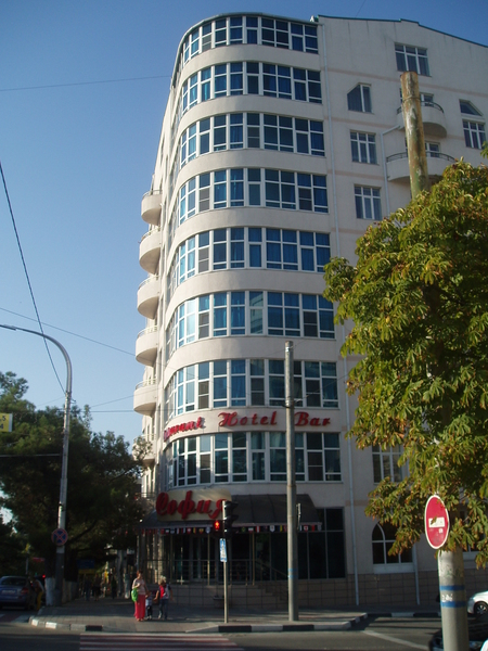 Центральная улица - ул. Советов, гостиница