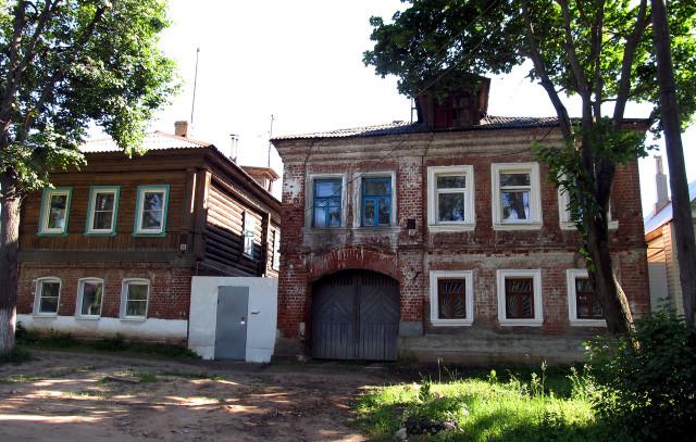 Ковров. Старые дома на ул. Правды