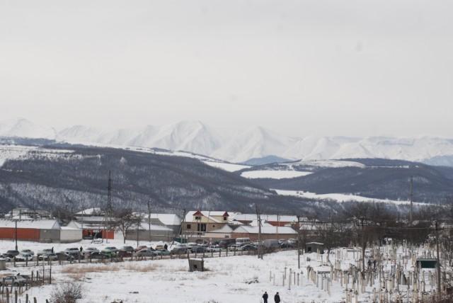 Зима в Хасавюрте