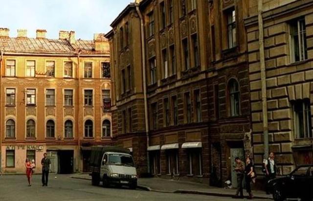 Недалеко от Большой Пушкарской улицы. Петроградка. Питер