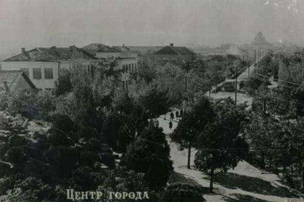Центр города. Начало XX века