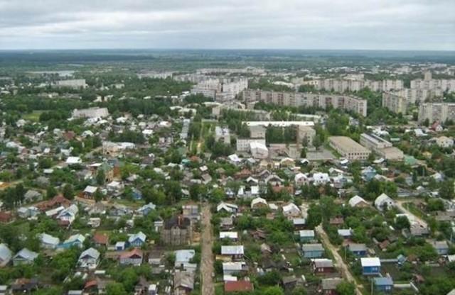 Панорама города Ковров