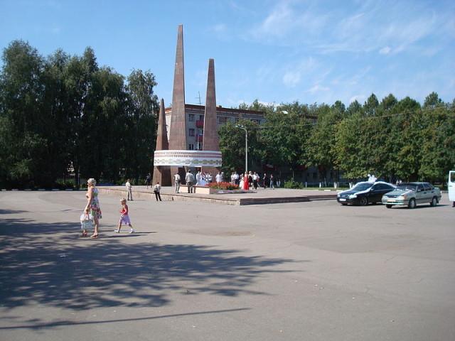 """Мемориал """"Вечный огонь"""", центр города"""