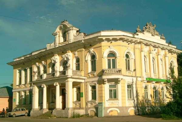 Здания Бежецка