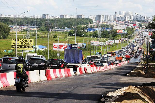 Пробки – визитная карточка Москвы, даже в новых округах