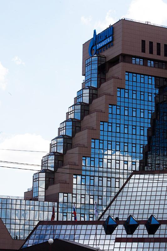 Здание «Трансгаза» - голубая мечта  «офисного планктона»