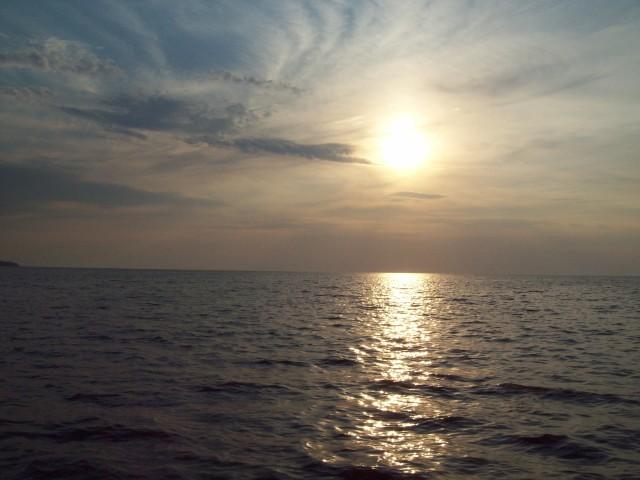 Азовское море вечером