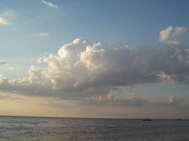 Катера рыбаков на Азовском море