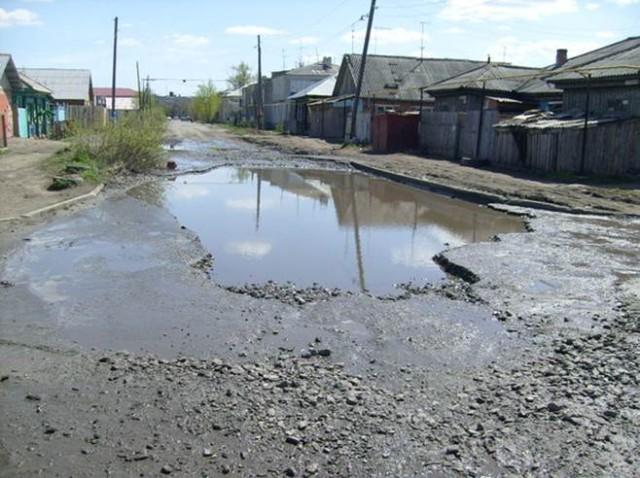 Обыкновенная асфальтовая дорога по Котовского