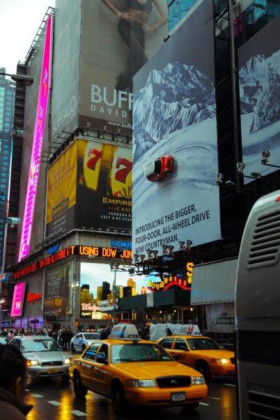 Реклама МИНИ на Мэддисон