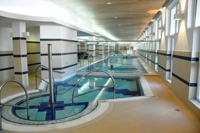 Бассейн в СПА-центре Соваты