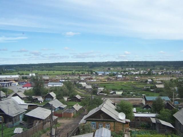 Типичный сибирский пейзаж