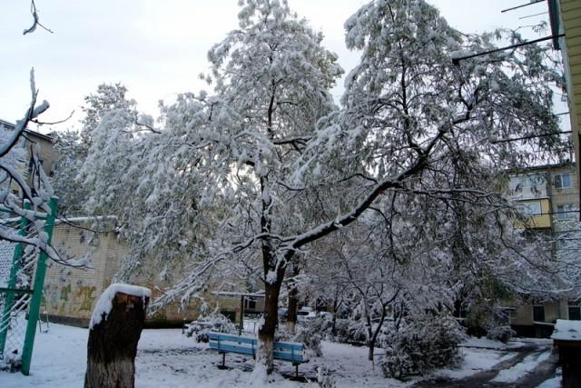 Зима в Черкесске