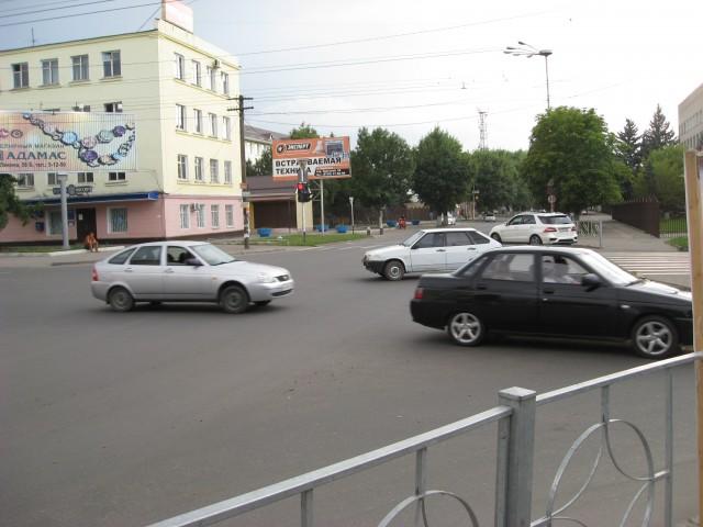 Перекресток ул. Ленина и ул. Ставропольская