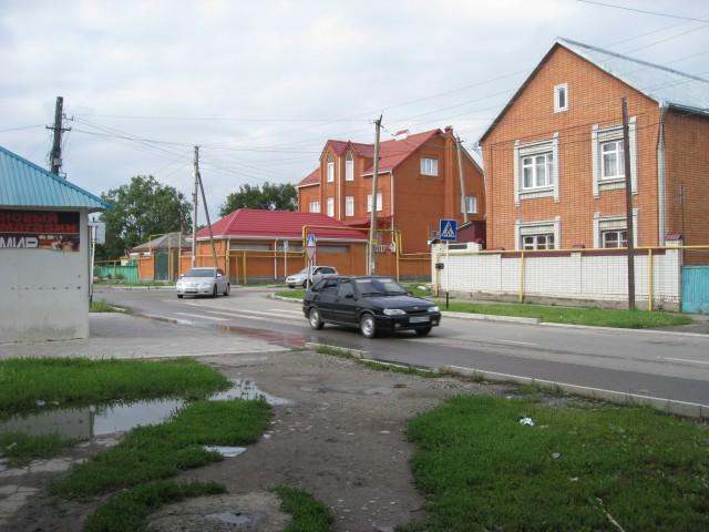 Перекресток ул. Грибоедова и ул. Ставропольская
