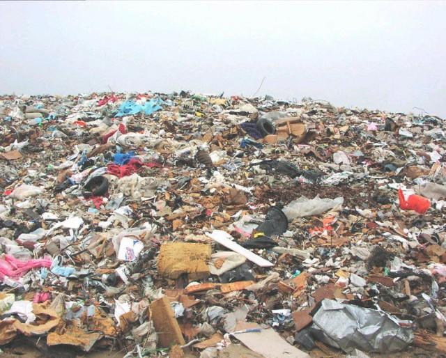 Несанкционированная свалка мусора