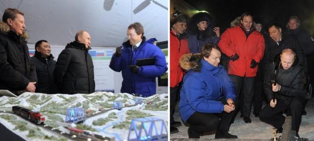 Владимир Путин вбил  первый костыль в шпалу будущей ЖД