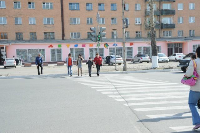 Одна из улиц Кызыла