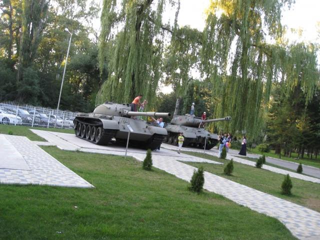 Памятники ВОВ