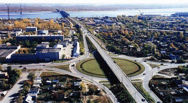 Мост через реку Зея