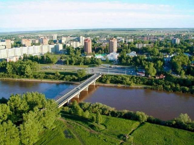 Панорамный вид на город
