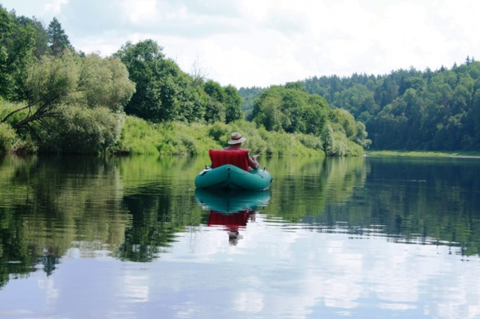 Природа Калужской области располагает к спокойному отдыху