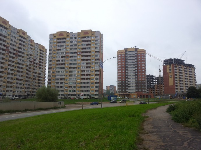 Новостройки в Обнинске растут, как грибы