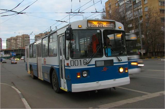 Химкинский троллейбус довезет даже до Москвы