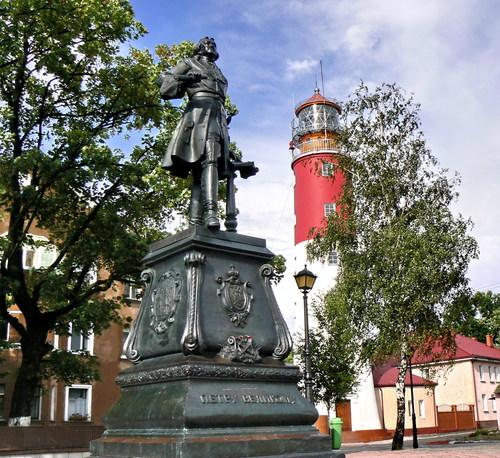 Памятник Петру I – отцу российского флота