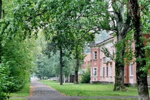 Старый район. ул.Комсомольская