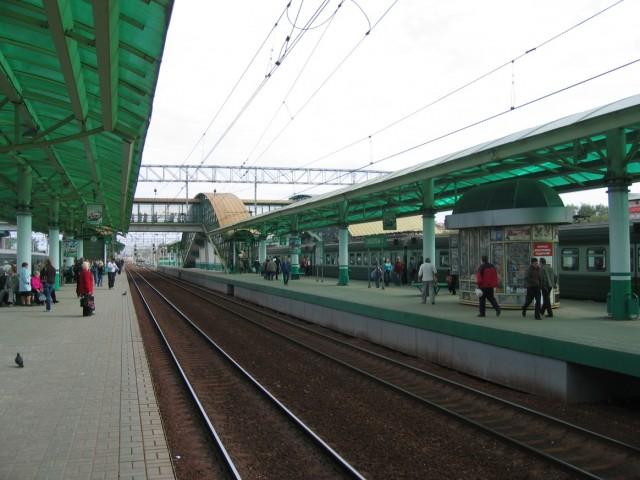 Ж/д станция в Люберцах