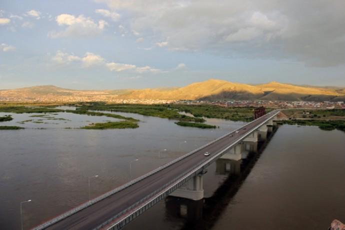 Мост через Селенгу
