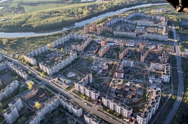 Панорамный вид на Новый район