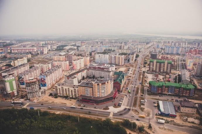 Современный Нефтеюганск. Автор фото - Павел Гирин