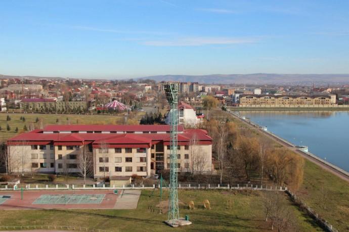 Назрань — самый крупный город Ингушетии