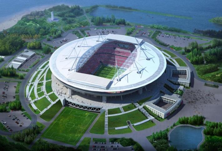 Для интереса, посмотрел, как будет выглядеть стадион в Ростове (его только начинают строить). Это один из проектов. Впечатляет?