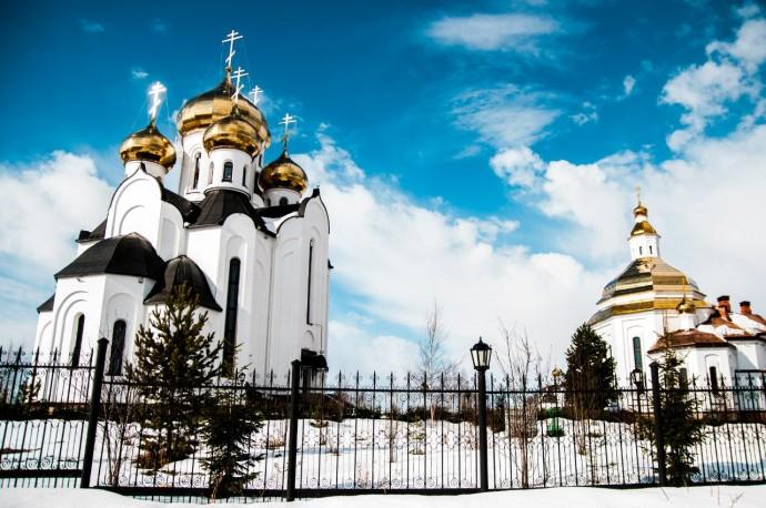 Нефтеюганский храм. Автор фото - Алексей Крупилов