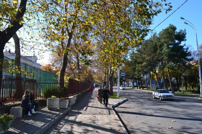Анапа. Осень. Ул. Крымская