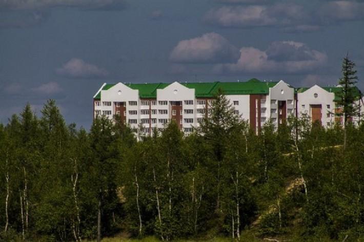 Новостройки составляют основной жилой комплекс Нового Уренгоя