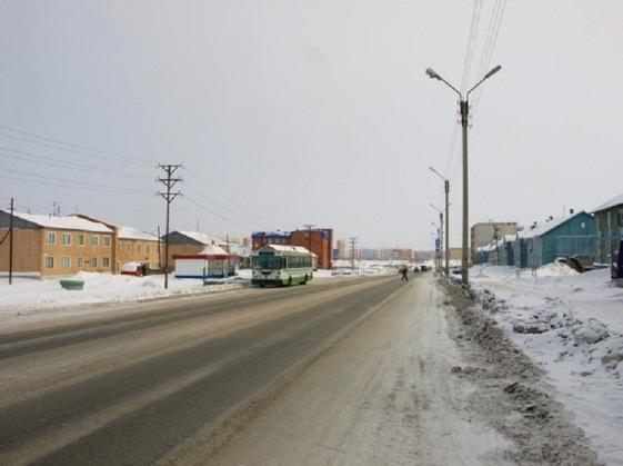 Зима в Новом Уренгое