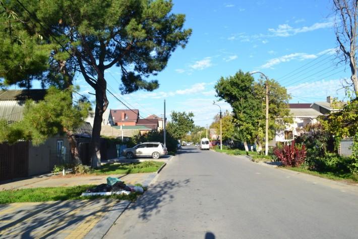 Типичная улица Анапы