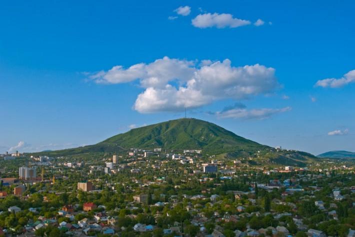 Гора Машук и Пятигорск