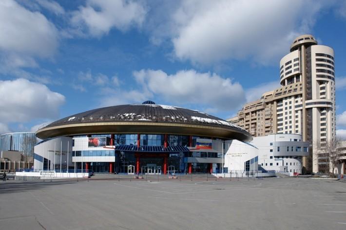 Это не НЛО, это Дворец игрового спорта Екатеринбурга