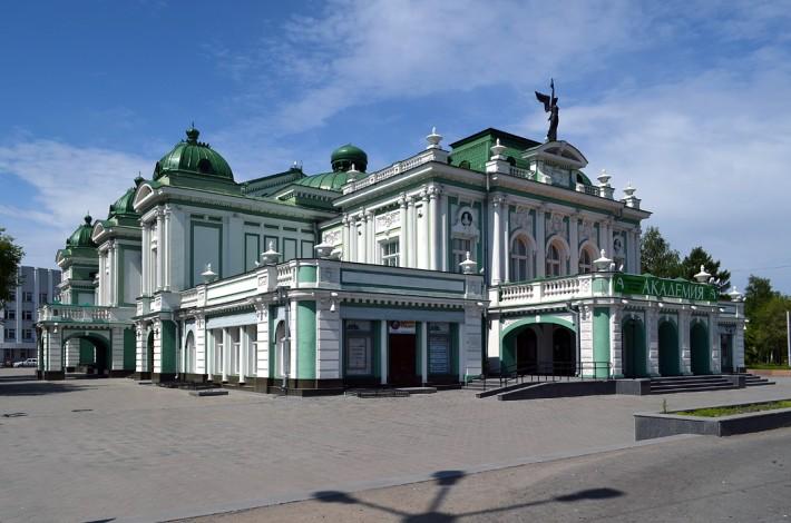 Отреставрированное в этом году здание Драматического театра