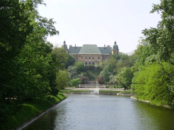 В Варшаве много парков и зеленых зон