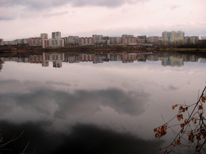 Один из жилых районов Первоуральска