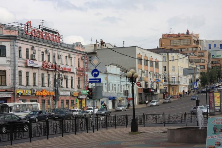 Курск. Улица Дзержинского