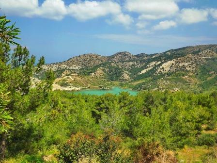 Зима на Кипре разная
