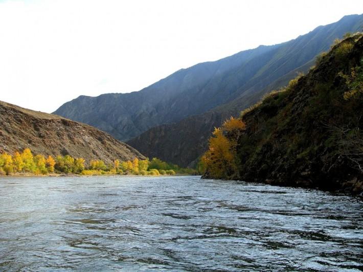 Река Хемчик — приток Енисея
