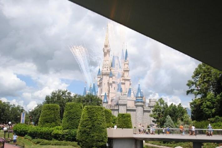Замок в Диснейленде, Орландо, Флорида
